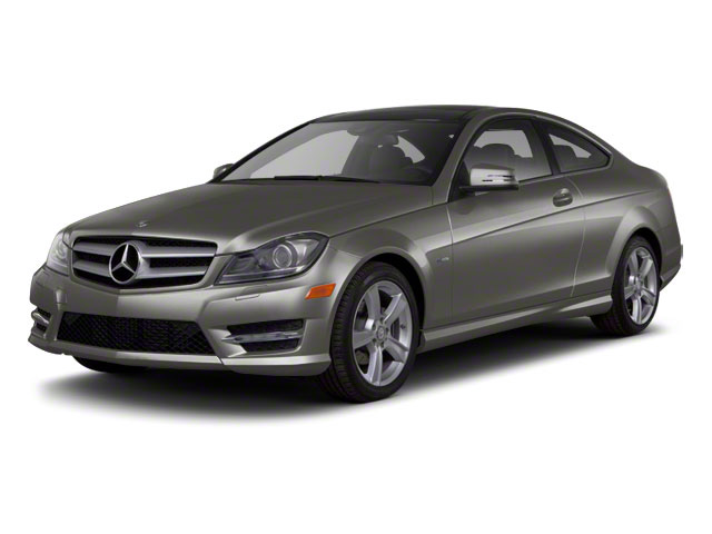 Palladium Silver Metallic 2012 Mercedes-Benz C-Class Pictures C-Class Coupe 2D C63 AMG photos front view