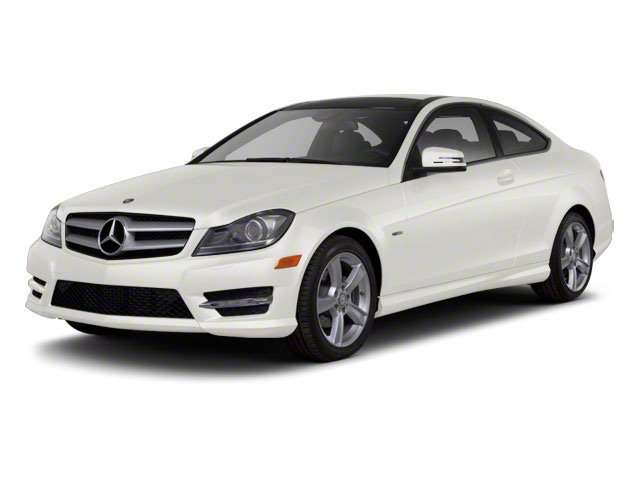 Diamond White Metallic 2012 Mercedes-Benz C-Class Pictures C-Class Coupe 2D C63 AMG photos front view