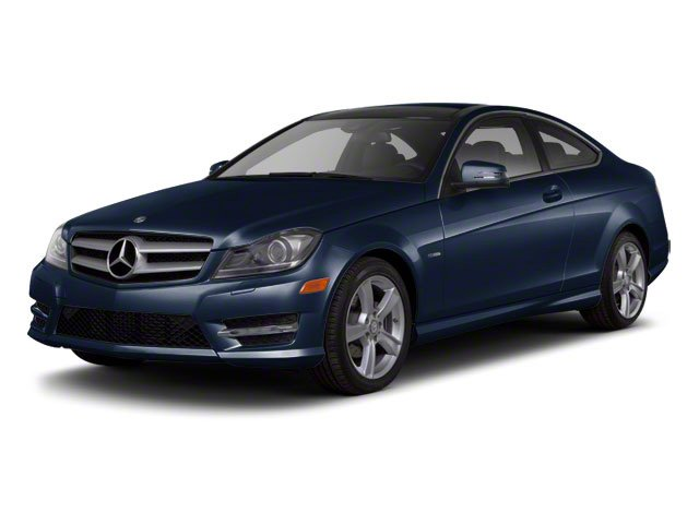 Lunar Blue Metallic 2012 Mercedes-Benz C-Class Pictures C-Class Coupe 2D C63 AMG photos front view