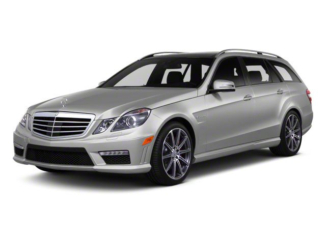 Palladium Silver Metallic 2012 Mercedes-Benz E-Class Pictures E-Class Wagon 4D E350 AWD photos front view