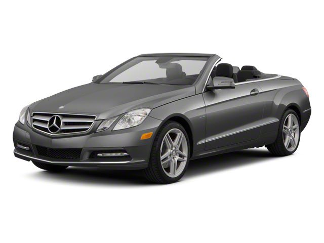 Steel Grey Metallic 2012 Mercedes-Benz E-Class Pictures E-Class Convertible 2D E350 photos front view