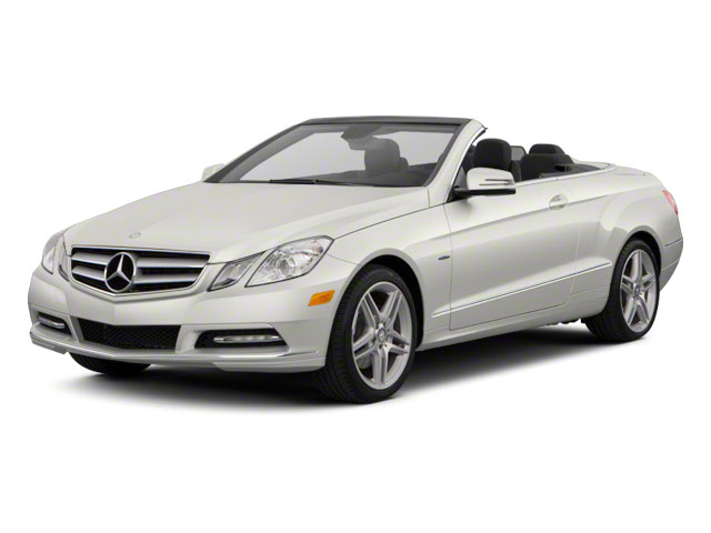Diamond White Metallic 2012 Mercedes-Benz E-Class Pictures E-Class Convertible 2D E350 photos front view