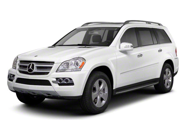 Arctic White 2012 Mercedes-Benz GL-Class Pictures GL-Class Utility 4D GL550 4WD photos front view
