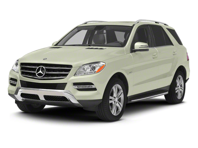 Arctic White 2012 Mercedes-Benz M-Class Pictures M-Class Utility 4D ML350 BlueTEC AWD photos front view