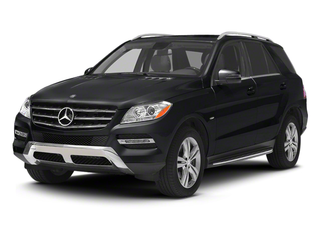 Steel Grey Metallic 2012 Mercedes-Benz M-Class Pictures M-Class Utility 4D ML350 BlueTEC AWD photos front view