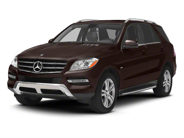 Dakota Brown Metallic 2012 Mercedes-Benz M-Class Pictures M-Class Utility 4D ML350 BlueTEC AWD photos front view