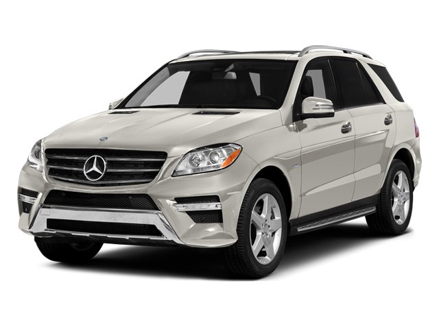 Arctic White 2012 Mercedes-Benz M-Class Pictures M-Class Utility 4D ML550 AWD photos front view