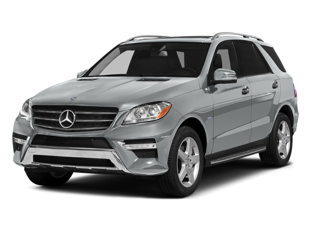 Iridium Silver Metallic 2012 Mercedes-Benz M-Class Pictures M-Class Utility 4D ML550 AWD photos front view