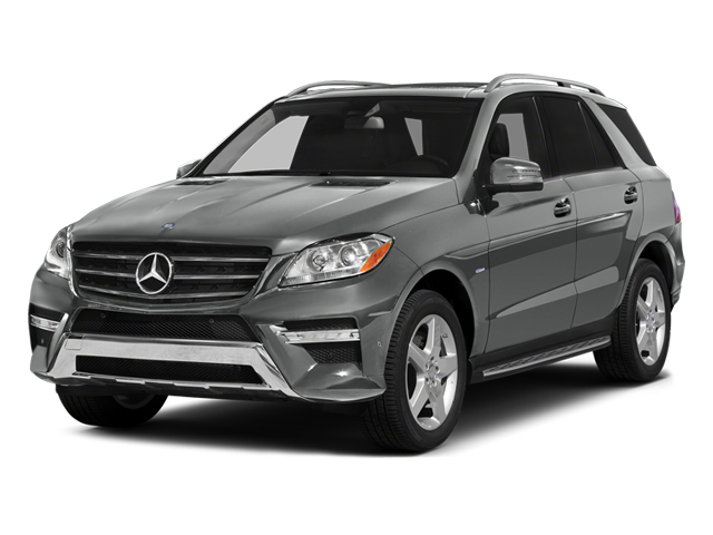 Palladium Silver Metallic 2012 Mercedes-Benz M-Class Pictures M-Class Utility 4D ML550 AWD photos front view