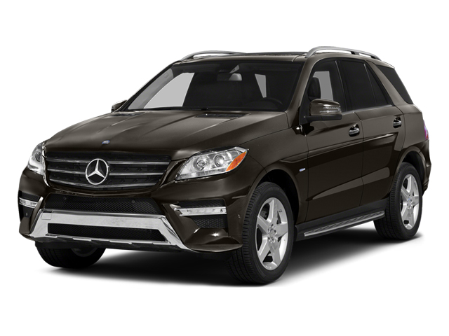 Dakota Brown Metallic 2012 Mercedes-Benz M-Class Pictures M-Class Utility 4D ML550 AWD photos front view
