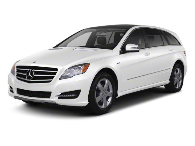 Arctic White 2012 Mercedes-Benz R-Class Pictures R-Class Utility 4D R350 AWD photos front view