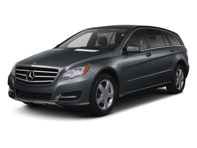 Steel Grey Metallic 2012 Mercedes-Benz R-Class Pictures R-Class Utility 4D R350 AWD photos front view