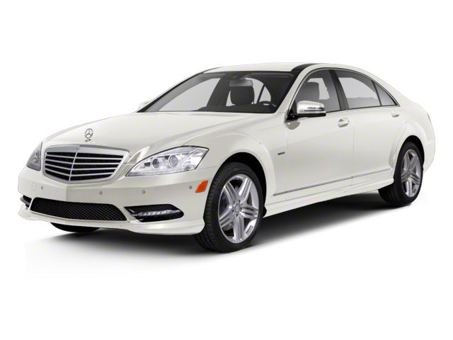 Diamond White Metallic 2012 Mercedes-Benz S-Class Pictures S-Class Sedan 4D S63 AMG photos front view