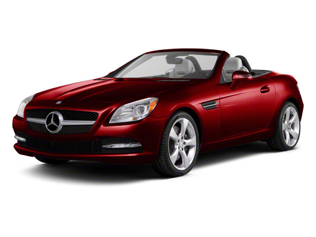 Mars Red 2012 Mercedes-Benz SLK-Class Pictures SLK-Class Roadster 2D SLK350 photos front view