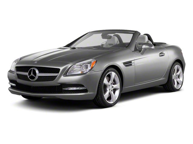 Iridium Silver Metallic 2012 Mercedes-Benz SLK-Class Pictures SLK-Class Roadster 2D SLK350 photos front view