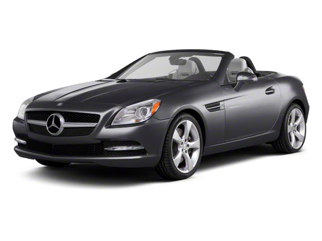Palladium Silver Metallic 2012 Mercedes-Benz SLK-Class Pictures SLK-Class Roadster 2D SLK350 photos front view