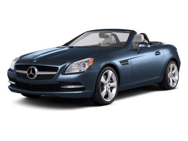 Lunar Blue Metallic 2012 Mercedes-Benz SLK-Class Pictures SLK-Class Roadster 2D SLK350 photos front view