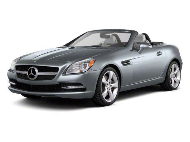 Silver Mist Metallic 2012 Mercedes-Benz SLK-Class Pictures SLK-Class Roadster 2D SLK350 photos front view