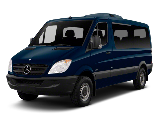 Steel Blue 2012 Mercedes-Benz Sprinter Passenger Vans Pictures Sprinter Passenger Vans Passenger Van High Roof photos front view