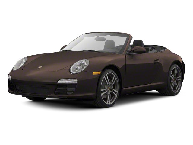 Anthracite Brown Metallic 2012 Porsche 911 Pictures 911 Cabriolet 2D S photos front view