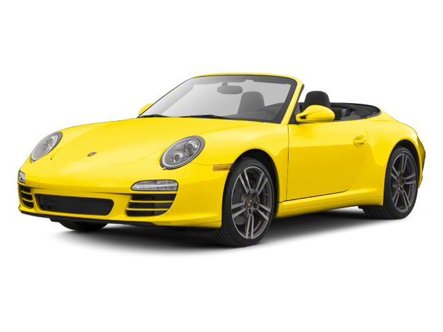 Racing Yellow 2012 Porsche 911 Pictures 911 Cabriolet 2D S photos front view