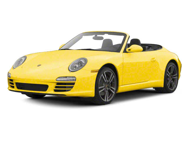 Speed Yellow 2012 Porsche 911 Pictures 911 Cabriolet 2D 4S AWD photos front view