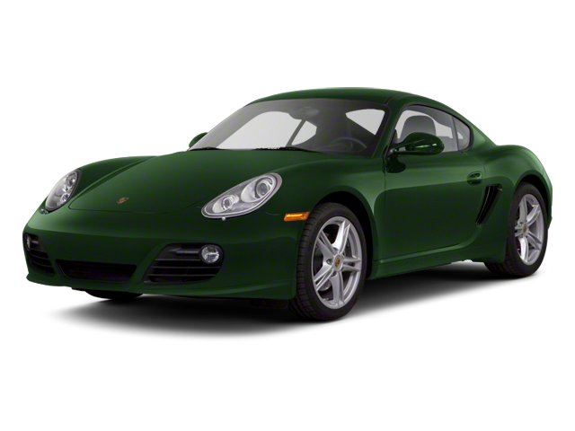 Porsche Racing Green Metallic 2012 Porsche Cayman Pictures Cayman Coupe 2D photos front view