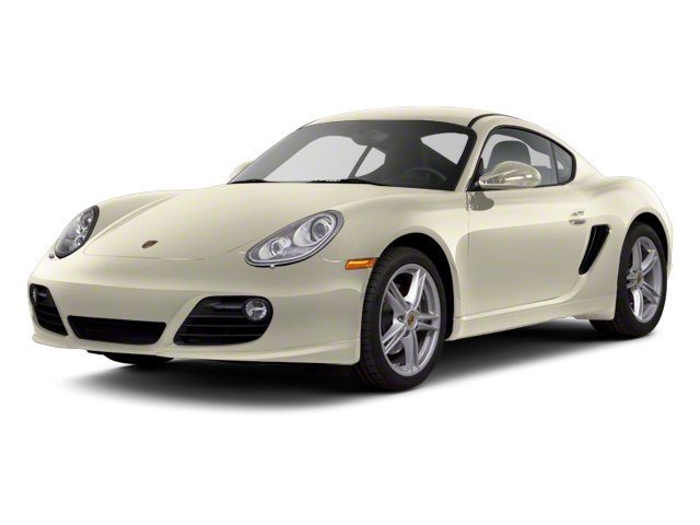 Cream White 2012 Porsche Cayman Pictures Cayman Coupe 2D photos front view
