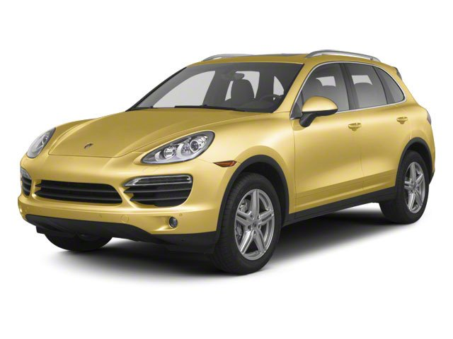 Sand Yellow 2012 Porsche Cayenne Pictures Cayenne Utility 4D S AWD (V8) photos front view