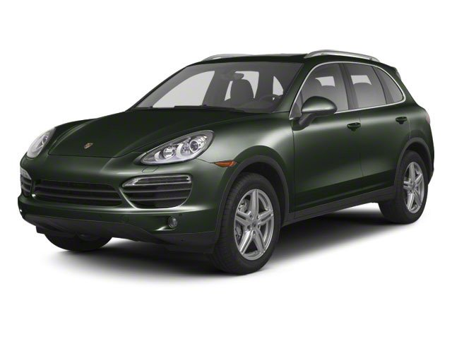 Jet Green Metallic 2012 Porsche Cayenne Pictures Cayenne Utility 4D S AWD (V8) photos front view