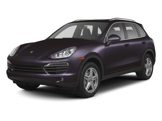 Amethyst Metallic 2012 Porsche Cayenne Pictures Cayenne Utility 4D Turbo AWD (V8) photos front view
