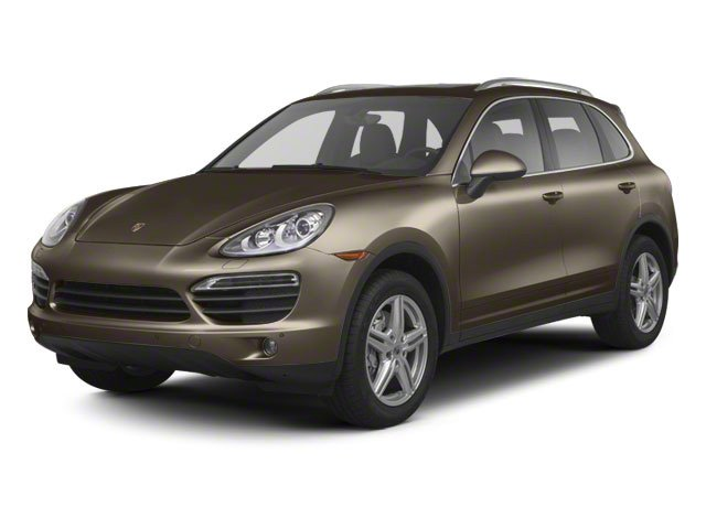 Umber Metallic 2012 Porsche Cayenne Pictures Cayenne Utility 4D Turbo AWD (V8) photos front view