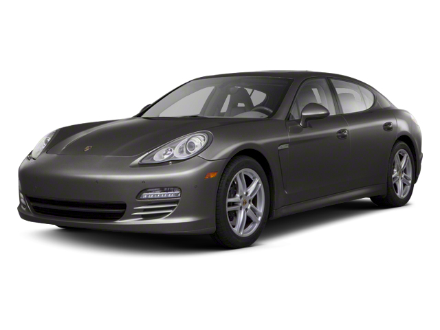 Carbon Grey Metallic 2012 Porsche Panamera Pictures Panamera Hatchback 4D Turbo AWD photos front view