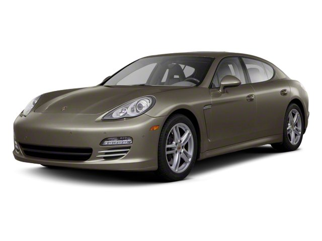 Topaz Brown Metallic 2012 Porsche Panamera Pictures Panamera Hatchback 4D Turbo AWD photos front view