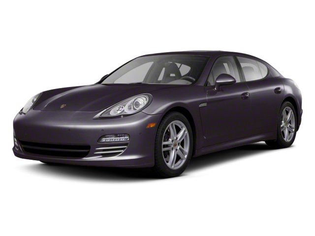 Amethyst Metallic 2012 Porsche Panamera Pictures Panamera Hatchback 4D Turbo AWD photos front view