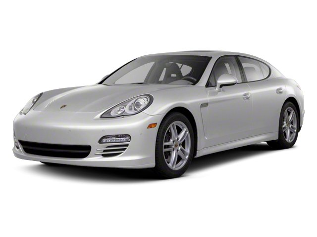 GT Silver Metallic 2012 Porsche Panamera Pictures Panamera Hatchback 4D Turbo AWD photos front view