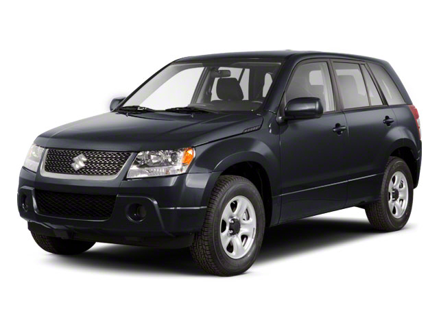 Azure Gray Metallic 2012 Suzuki Grand Vitara Pictures Grand Vitara Utility 4D Premium 4WD photos front view