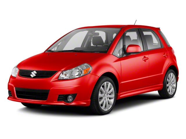 Crimson Red Metallic 2012 Suzuki SX4 Pictures SX4 Hatchback 5D AWD photos front view
