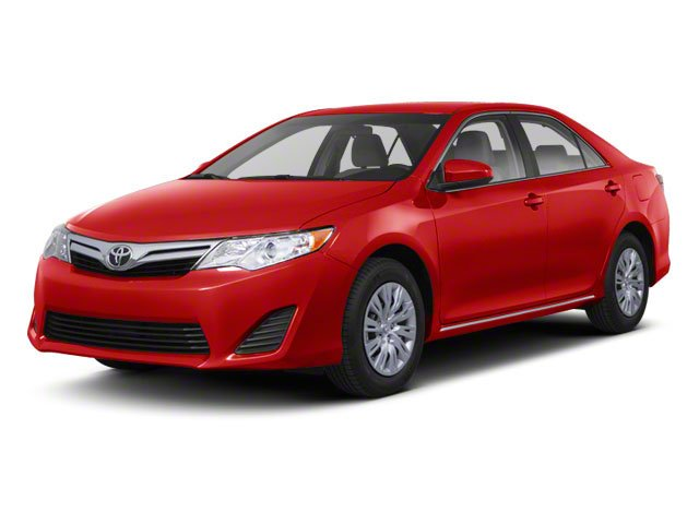 Barcelona Red Metallic 2012 Toyota Camry Pictures Camry Sedan 4D LE photos front view