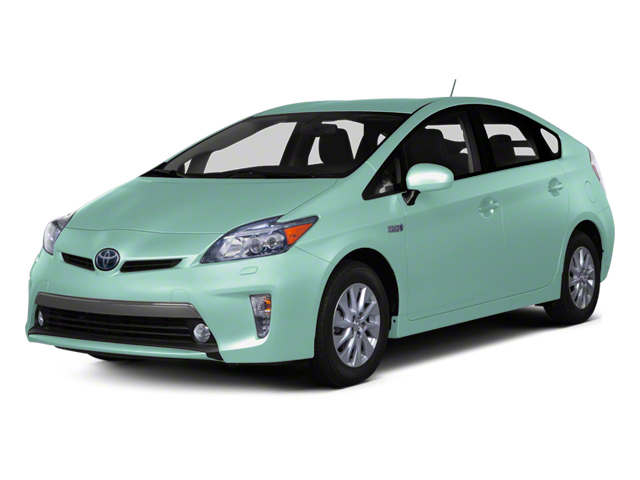 Sea Glass Pearl 2012 Toyota Prius Plug-In Pictures Prius Plug-In Liftback 5D Plug-In Advanced Hybrid photos front view