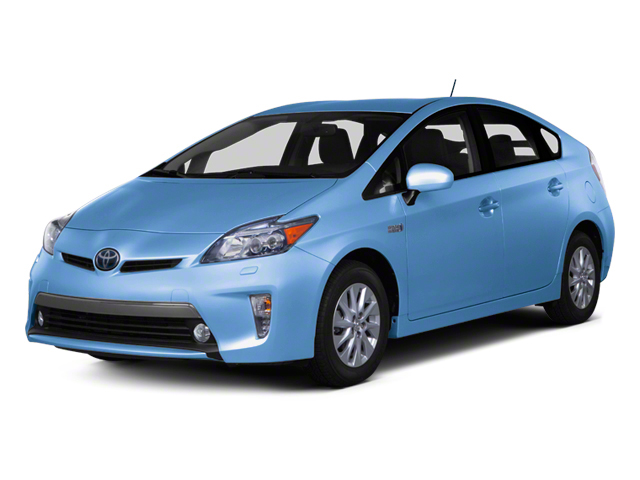 Clear Water Blue Metallic 2012 Toyota Prius Plug-In Pictures Prius Plug-In Liftback 5D Plug-In Advanced Hybrid photos front view