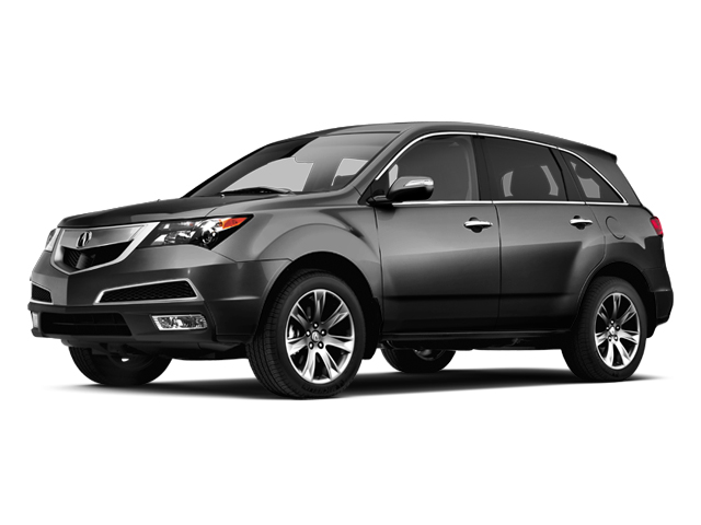 Crystal Black Pearl 2013 Acura MDX Pictures MDX Utility 4D Advance DVD AWD V6 photos front view