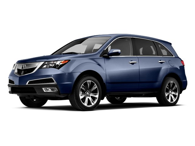 Bali Blue Pearl 2013 Acura MDX Pictures MDX Utility 4D Advance DVD AWD V6 photos front view