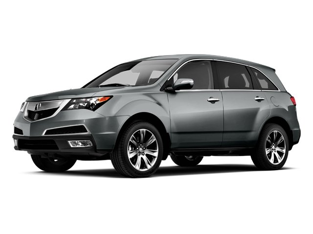 Graphite Luster Metallic 2013 Acura MDX Pictures MDX Utility 4D Advance DVD AWD V6 photos front view