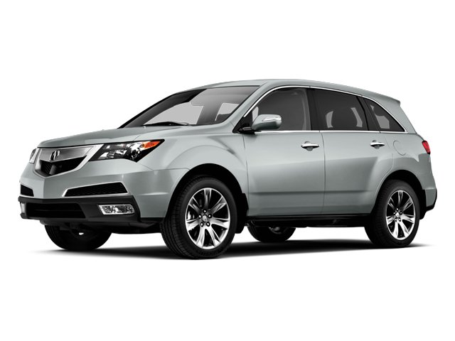 Palladium Metallic 2013 Acura MDX Pictures MDX Utility 4D Advance DVD AWD V6 photos front view