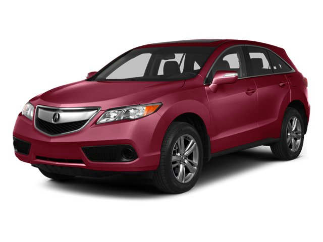 Basque Red Pearl II 2013 Acura RDX Pictures RDX Utility 4D 2WD photos front view