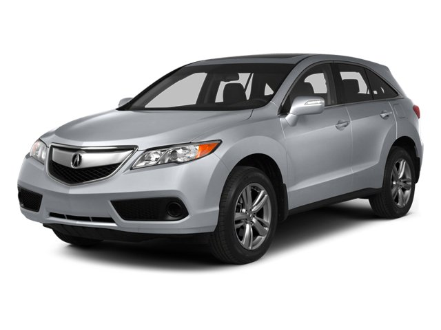 Forged Silver Metallic 2013 Acura RDX Pictures RDX Utility 4D AWD photos front view