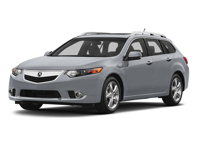 Forged Silver Metallic 2013 Acura TSX Sport Wagon Pictures TSX Sport Wagon 4D Technology I4 photos front view