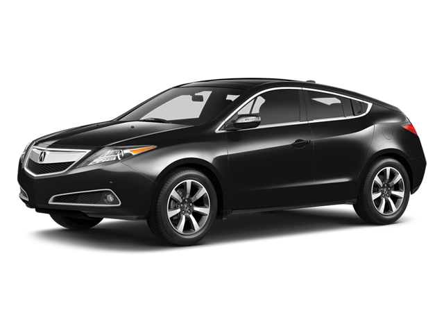 Crystal Black Pearl 2013 Acura ZDX Pictures ZDX Utility 4D AWD V6 photos front view
