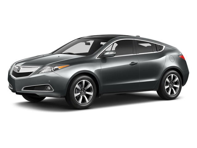 Graphite Luster Metallic 2013 Acura ZDX Pictures ZDX Utility 4D AWD V6 photos front view